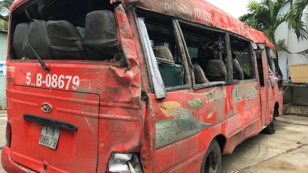 Phụ xe người An Giang tử vong trong vụ lật xe khách kinh hoàng