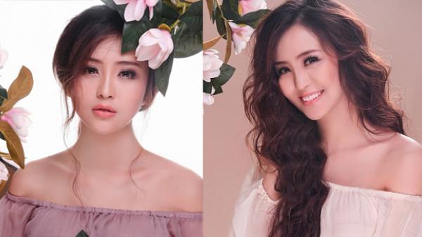 Cô gái An Giang - Hoa khôi Hải Yến đẹp ngọt ngào với tông màu tím tro