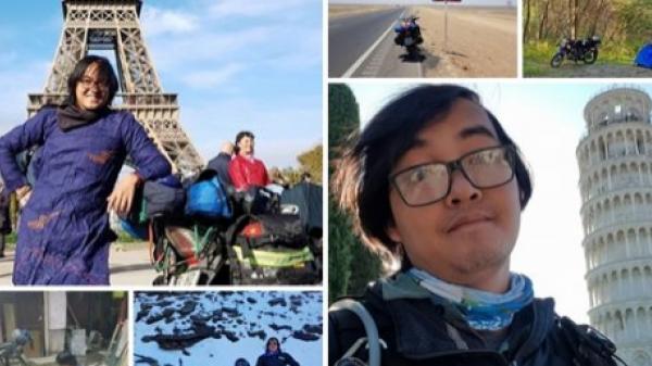 Chàng trai quê miền Tây phượt bằng xe máy từ Việt Nam, vượt 20 nghìn km qua 23 quốc gia trong 150 ngày