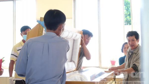 Gia đình đã nhận xác Nguyễn Hải Dương, đang lo tang lễ