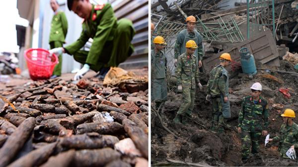 Bàn giao gần 7 tấn đầu đạn trong vụ nổ ở Bắc Ninh cho trường bắn