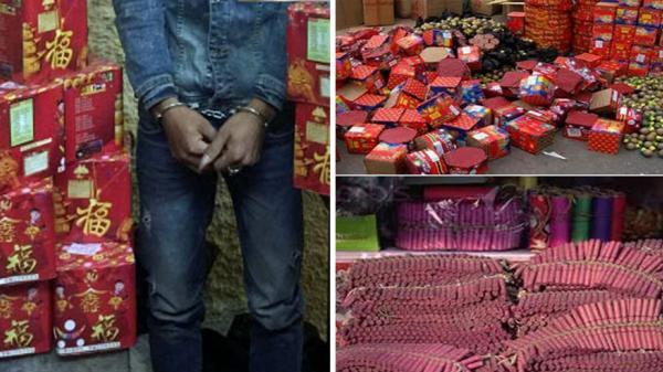 Bắc Giang: 1 ngày bắt 2 vụ vận chuyển, tàng trữ pháo nổ