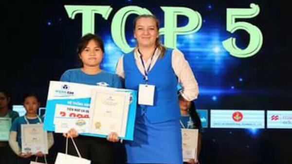 Cô học trò Bắc Giang xuất sắc vào top 5 toàn quốc cuộc thi Vô địch tiếng Anh
