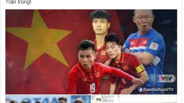Lên Facebook xin nghỉ học xem U23 Việt Nam, hiệu trưởng ở Bắc Giang đọc được... cho nghỉ học toàn trường