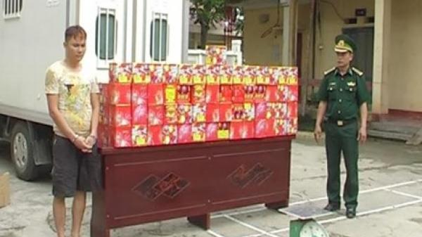 Hám lợi, đối tượng ở Bắc Giang rủ cháu ruột đi buôn bán pháo nổ trái phép