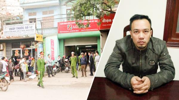 CLIP: Lời khai của nghi can dùng súng cướp hơn 1 tỷ đồng ngân hàng ở Bắc Giang