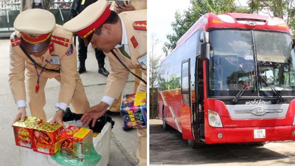 Bắc Giang: Bắt vụ vận chuyển 9 kg pháo nổ và 25 kg pháo hoa trên xe khách