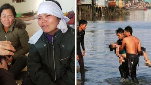 Quặn lòng xóm nghèo nhuốm màu tang thương khi 4 người trong 1 gia đình đuối nước ở Bắc Giang