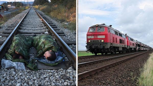 Đứa trẻ ngủ giữa đường ray ở Bắc Giang và giây phút khiến người lái tàu ám ảnh