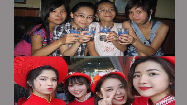 4 cô bạn thân ở Bắc Giang khoe ảnh dậy thì thành công: Đừng bao giờ coi thường em gái hàng xóm!