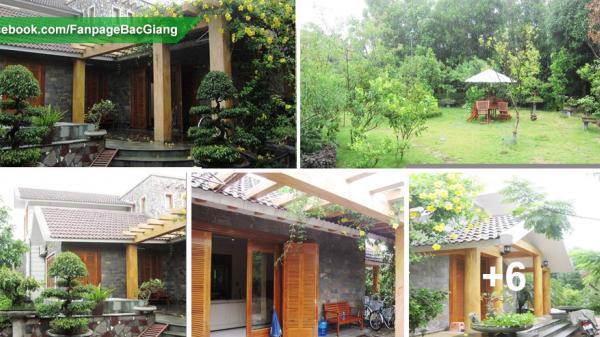 Mãn nhãn biệt thự vườn 1 tầng ngập sắc xanh khiến ai cũng mơ ước ở Bắc Giang