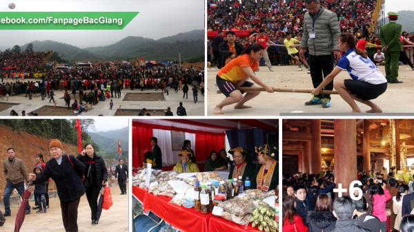 Hàng nhìn du khách tới Khu du lịch tâm linh - sinh thái Tây Yên Tử