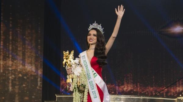 Clip: Xem trọn vẹn những phần thi xuất sắc giúp Hương Giang trở thành Tân Hoa hậu Chuyển giới Quốc tế 2018