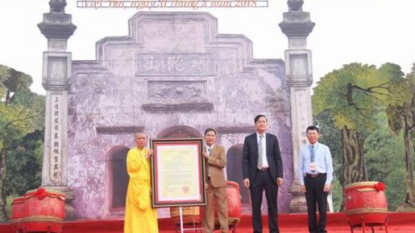 Bắc Giang: Mộc bản chùa Bổ Đà được công nhận là bảo vật quốc gia