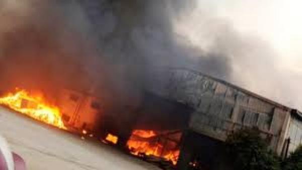 Bắc Giang: Cháy lớn tại nhà xưởng tại công ty điện tử, thiệt hại 300 triệu đồng