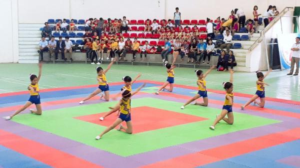 Tổ chức giải Aerobic cho học sinh tiểu học ở Lục Nam (Bắc Giang): Gần 1.400 học sinh tham gia