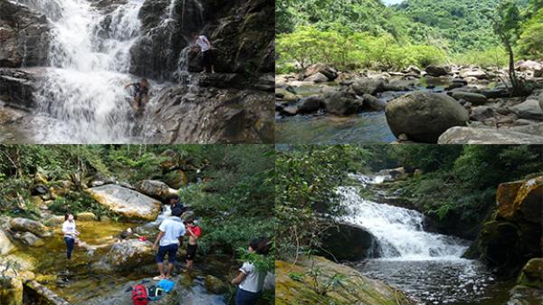 Thác Ba Tia điểm giải nhiệt cực đã cho mùa hè oi bức ở Bắc Giang