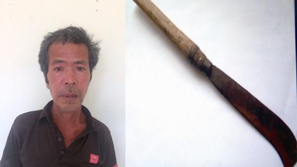Đối tượng Bắc Giang dùng dao quắm chém vào đầu nạn nhân vì mâu thuẫn