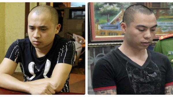TP Bắc Giang: Bắt 2 đối tượng dùng 'bom bẩn' ném vào quầy hàng để đòi nợ