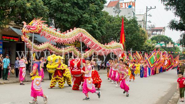Khai mạc Lễ hội Văn hóa dân gian Phố Hiến 2018