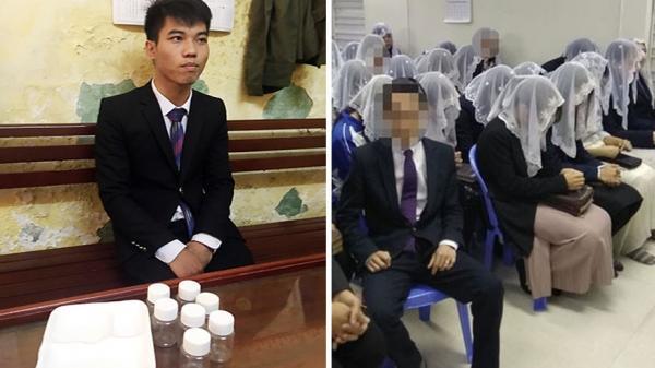 Danh tính những người truyền đạo 'Hội Thánh Đức Chúa Trời' bị phát hiện cùng 20 lọ 'nước thánh'