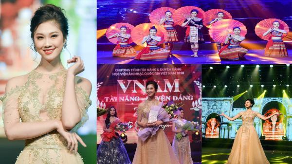 Cùng ngắm người đẹp Bắc Giang Nguyễn Huyền Trang -  Á khôi 1 cuộc thi VNAM 2018