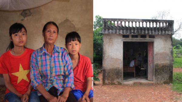 Mẹ bệnh tim, hàng ngày vẫn bán bánh đúc nuôi con tâm thần và 2 cháu mồ côi ở Bắc Giang