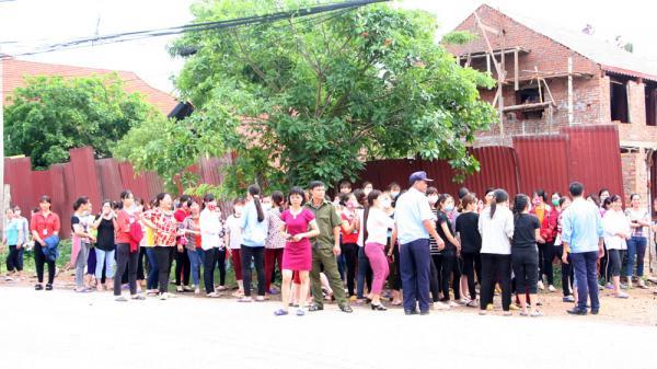 TP Bắc Giang: Hơn 400 công nhân ngừng việc tập thể