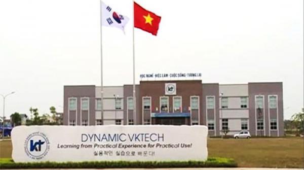 Bắc Giang: Trường Cao đẳng nghề Công nghệ Việt - Hàn được công nhận là trường hạng I