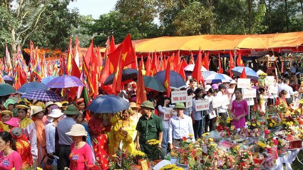 Bắc Giang: Khai mạc Lễ hội đền Suối Mỡ