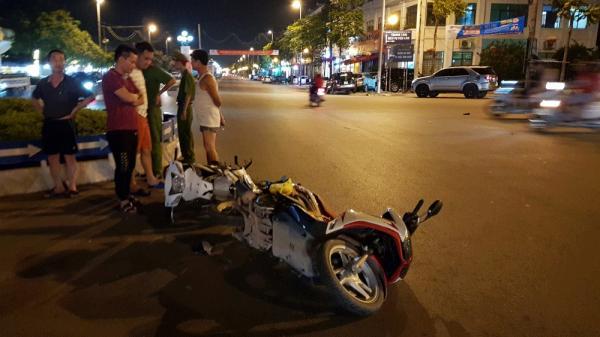 TP Bắc Giang: 4 người bị thương vì va chạm giao thông