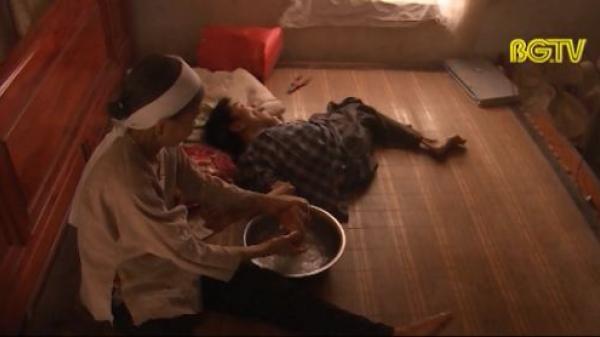 Bố c.hết oan uổng, con t.ật nguyền trông cậy mẹ già bệnh tật ở Bắc Giang