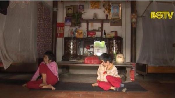 Mất cha, không mẹ hai chị em tật nguyền lay lắt sống từng ngày ở Việt Yên, Bắc Giang