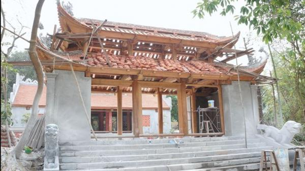 """Xây dựng tam quan chùa Bổ Đà: UBND tỉnh Bắc Giang """"xin"""" tồn tại sai phạm!"""