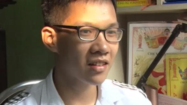 Gặp gỡ thí sinh Bắc Giang đạt điểm thi khối A cao thứ 4 toàn quốc