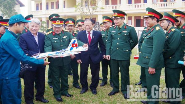 Tập trung xây dựng LLVT tỉnh Bắc Giang vững mạnh về mọi mặt