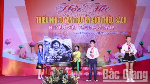 Bắc Giang: Thiếu nhi thi tuyên truyền giới thiệu sách