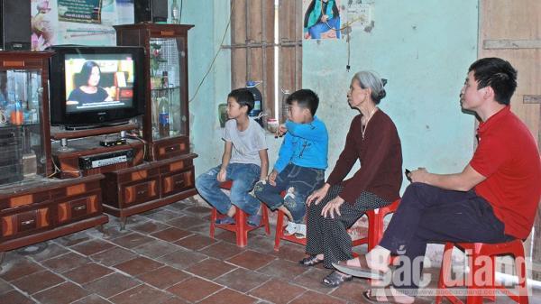 Bắc Giang: Giảm nghèo thông tin, nâng cao chất lượng cuộc sống