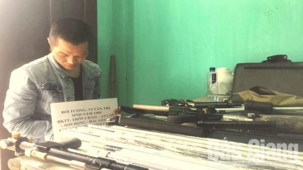 Sơn Động (Bắc Giang): Bắt đối tượng tàng trữ trái p.hép chất m.a t.úy và s.úng tự chế