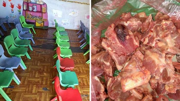 Lục Nam (Bắc Giang): Đồng loạt cho trẻ nghỉ học trong nhiều ngày vì nghi thực phẩm 'bẩn'