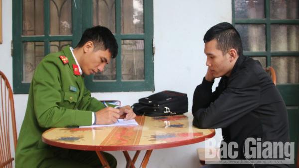 """Tạm giữ 2 đối tượng c.ưỡng đ.oạt tài sản, hoạt động tín dụng """"đen"""" ở Bắc Giang"""