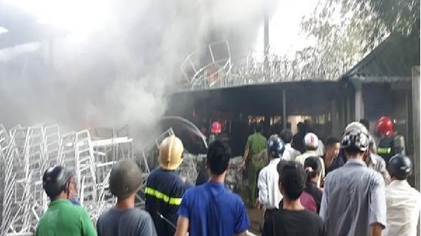 Nổ xưởng phân đạm hóa chất ở Bắc Giang, một công nhân tử vong