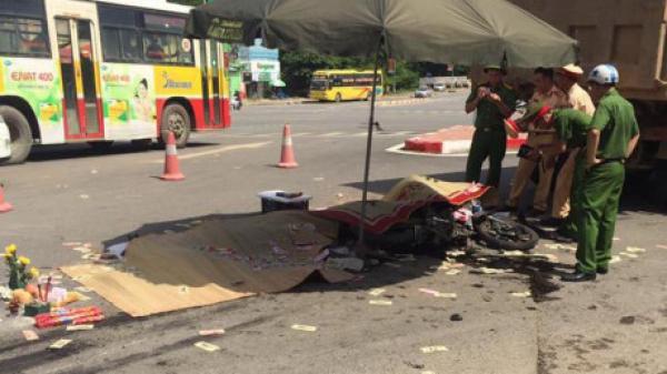 Lục Nam (Bắc Giang): V.a chạm với xe tải, người đàn ông v.ăng ra xa rồi t.ử vo.ng