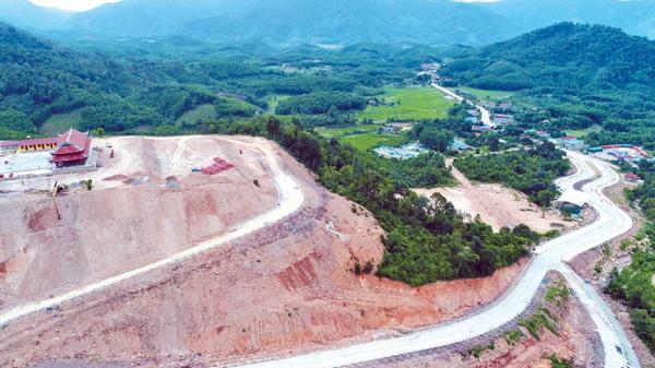 Dự án Khu du lịch tâm linh - sinh thái Tây Yên Tử ở Bắc Giang: Ngày vui đang tới gần