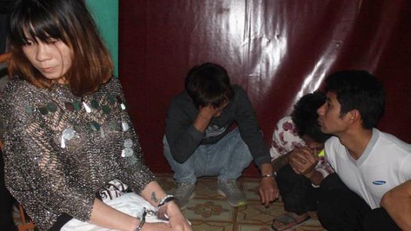 Bắc Giang: Bắt hàng chục thanh niên đang 'phê' m.a t.úy trong nhà nghỉ