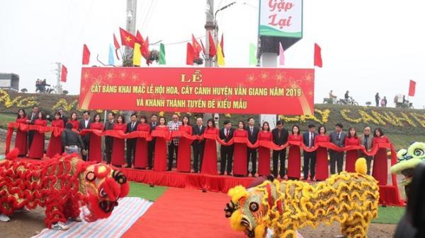 Hưng Yên: Xã Phụng Công đón nhận Bằng công nhận Làng nghề hoa, cây cảnh truyền thống