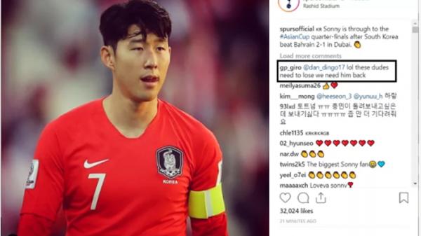 """""""Xin lỗi nhưng tôi mong ĐT Hàn Quốc bị loại khỏi Asian Cup ngay và luôn"""""""