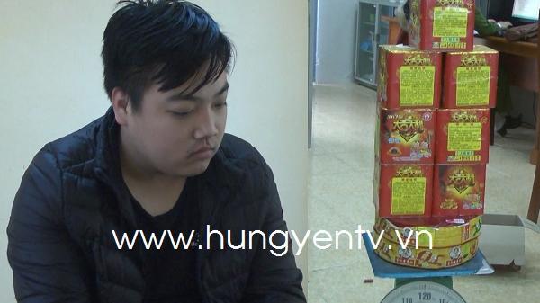 Hưng Yên: B.ắt giữ đối tượng mua bán trái phép pháo n.ổ