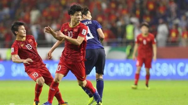 Thứ hạng và điểm số của ĐT Việt Nam trên BXH FIFA sau trận đấu với Nhật Bản