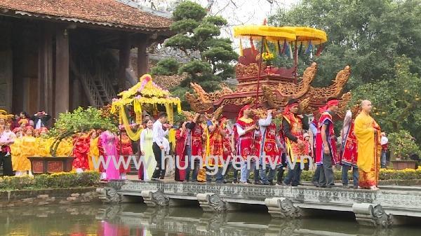 Về Hưng Yên tham dự lễ hội làng Nôm, làng cổ trên 300 năm tuổi